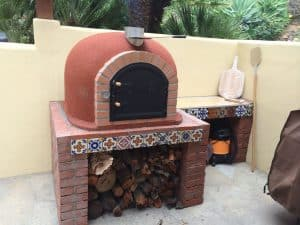 Brick Outdoor Pizza Oven Handmade In Portugal My Review Wood